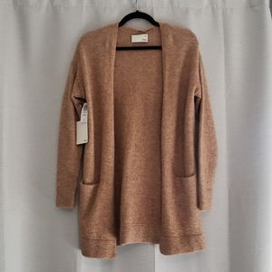 Wilfred Free Cozy long sleeve open front sweater